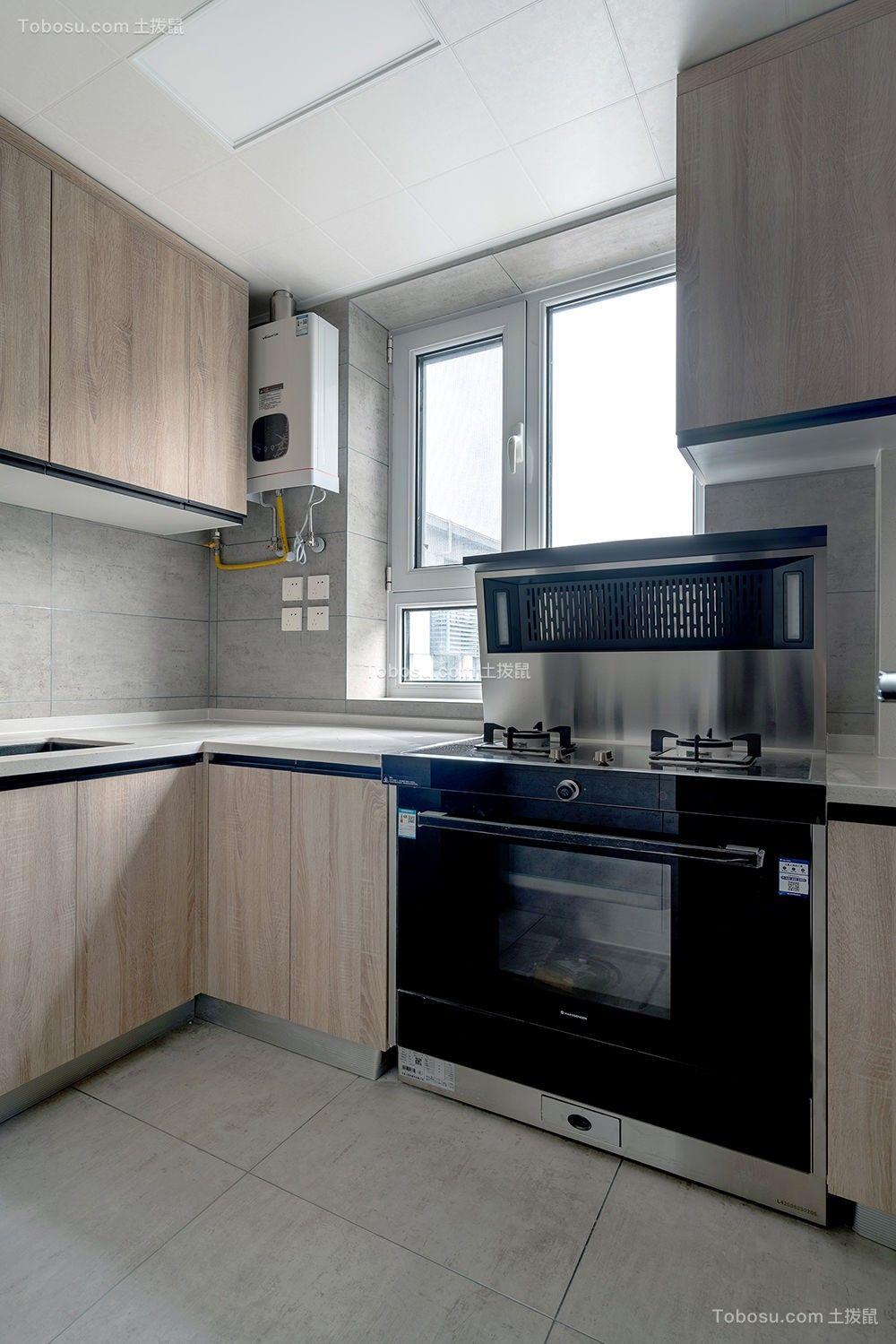 2021北欧厨房装修图 2021北欧地砖装修效果图大全