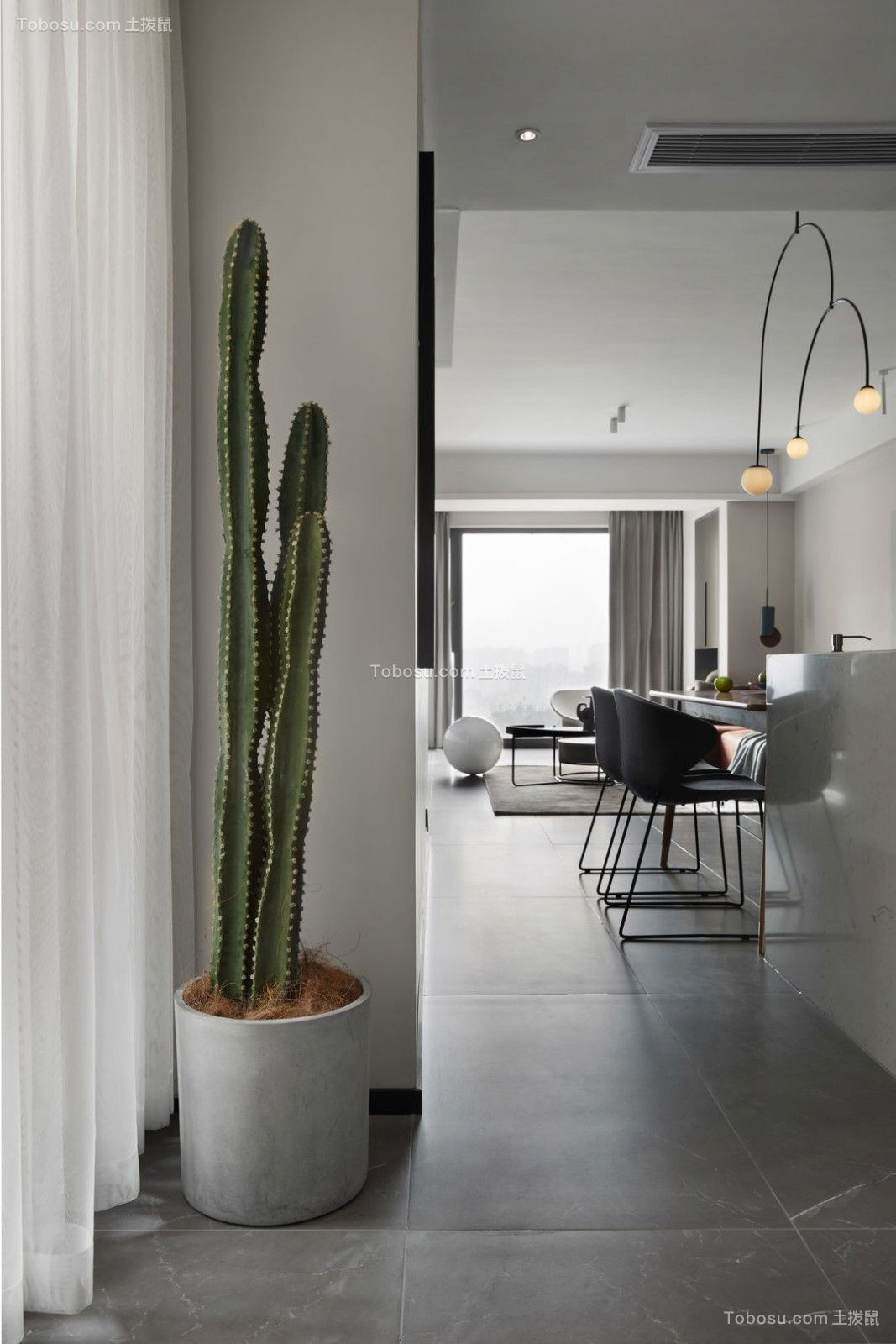 凤凰城二期3居室北欧风格