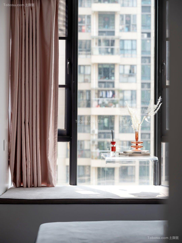 2021现代简约卧室装修设计图片 2021现代简约窗帘装修图