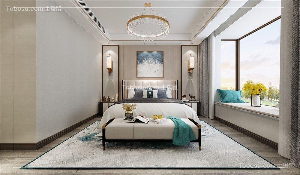 2021新中式卧室装修设计图片 2021新中式床图片