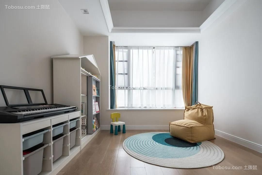 2021美式儿童房装饰设计 2021美式门厅装修图片