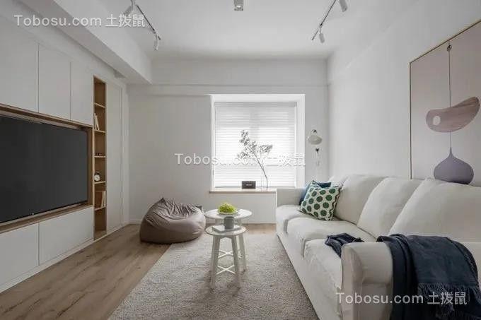 2021现代简约客厅装修设计 2021现代简约沙发装修图