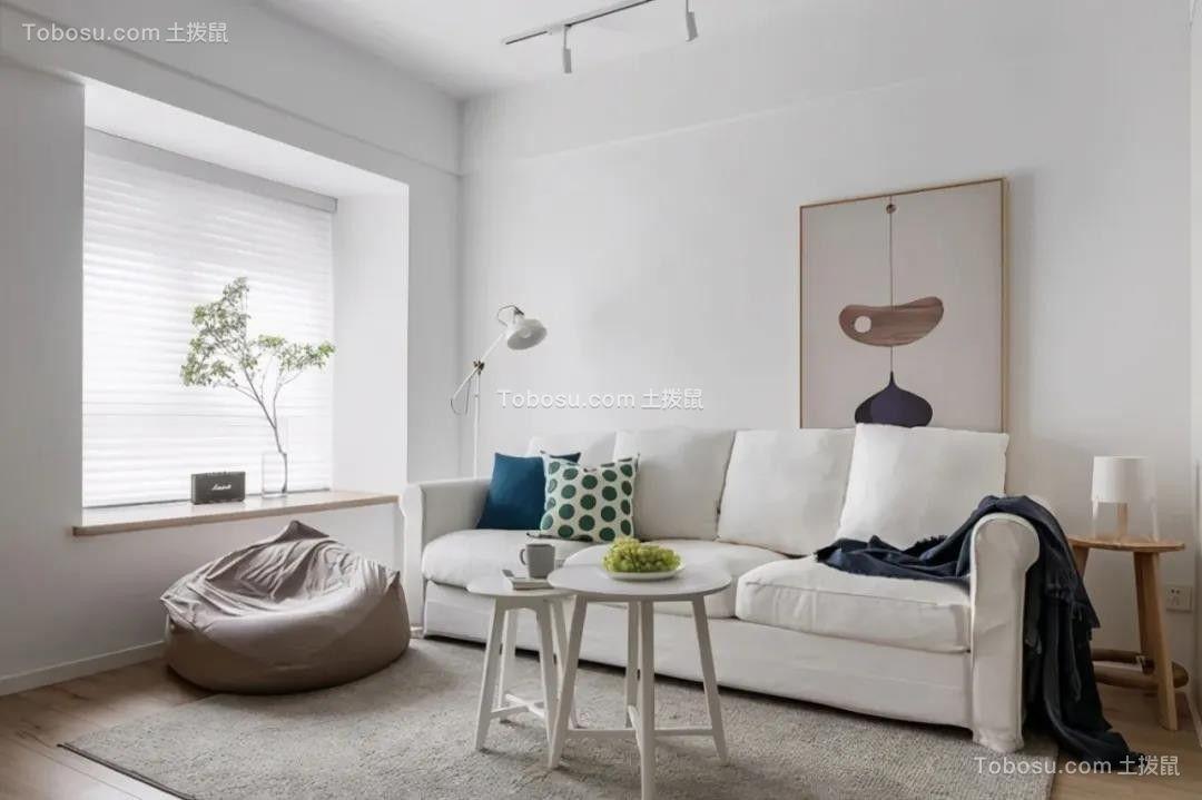 2021现代简约客厅装修设计 2021现代简约茶几装修效果图大全