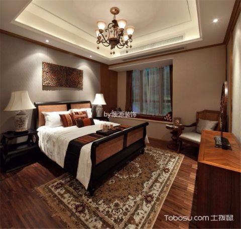 杭州悦麒美寓129平米东南亚风格