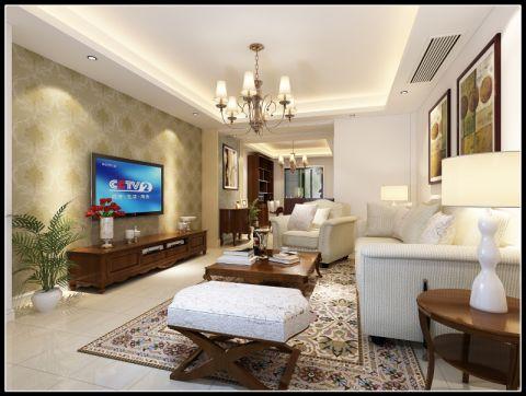 宁波雅戈尔都市华庭107平米现代风格