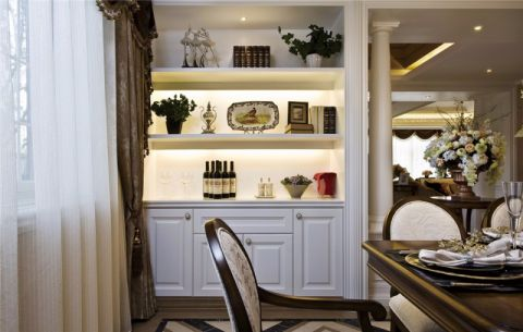 杭州广厦天都城蓝调公寓172平米欧式风格