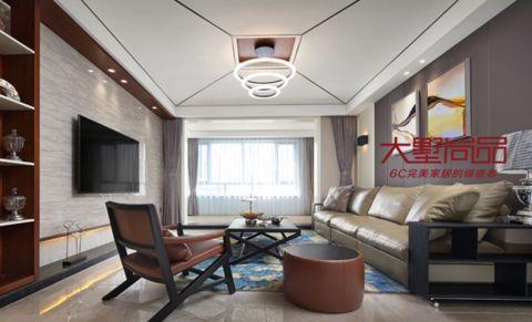 南通星光耀广场160平米现代简约风格入住实景