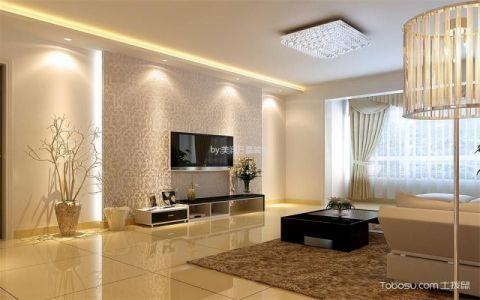 北京首城国际中心90平米现代欧式风格入住实景