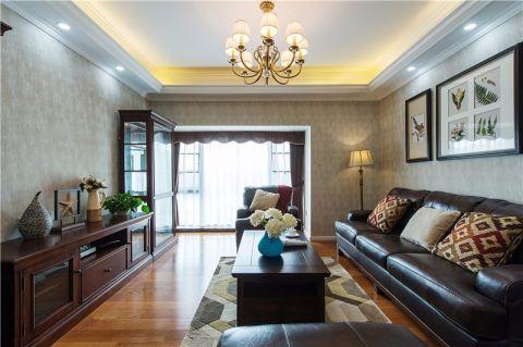 南京中南世纪雅苑110平米美式风格入住实景