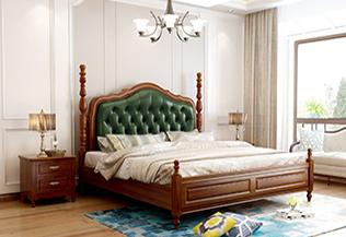 家居美式卧室装修,完美搭配你的秘密花园