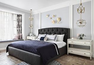 卧室床头背景墙装修,美到骨子里的设计